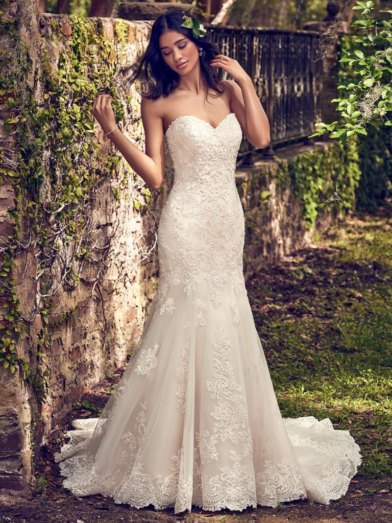 a0b5806be3d Maggie Sottero Fishtail Wedding Dress Uk